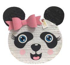 Handcrafted Traditional hit with a stick piñata Panda Themed Party, Panda Birthday Party, Birthday Pinata, Panda Party, Baby Birthday, Birthday Party Decorations, Diy Panda, Panda Bear, Homemade Pinata