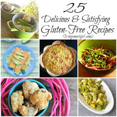 List of 25 Delicious and Satisfying Gluten-Free #Recipes