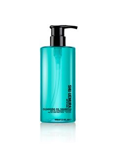 Shu Uemura Cleansing Oil Shampoo Anti-Oil Astringent Cleanser £32.00  Formulated with New Yuzu Extract that boasts calming effects and astringent properties. Silicone and paraben free, the formula is super lightweight and bursting with minerals extracted from volacanic sources, ensuring your hair is smooth and your scalp is free from oil build up.