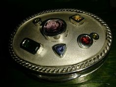 Silver pill box by Marco