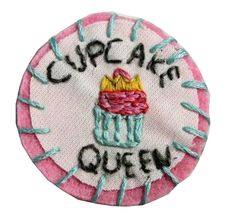cupcake queen patch