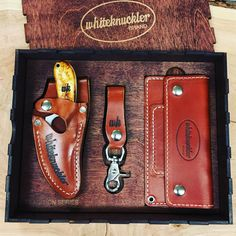 Whiteknuckler Brand is focused on traditional and classically styled American-made leather goods and accessories for truckers, hot rodders, outdoorsmen, motorcyclists, climbers, and adventuring souls. We offer a mix of products for folks that dig on vintage style and classic designs! #whiteknucklerbrand #whiteknuckler #leatherwork #leathergoods #wallet #leatherbelt #usa #madeinusa #trucker #hotrodder #rider #rancher #biker #motorcyclist