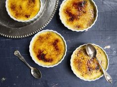 Beating egg yolks with sugar until pale and fluffy is the key to the smooth texture in this rich, classic French dessert, as made by Dennis Wist, father of Saveur Art Associate Allie Wist.