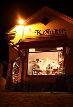 Kränku by night Broadway Shows, Neon Signs, Night, Shop, Store