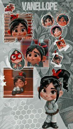 Cute Tumblr Wallpaper, Disney Phone Wallpaper, Cartoon Wallpaper Iphone, Iphone Wallpaper Tumblr Aesthetic, Cute Cartoon Wallpapers, Pretty Wallpapers, Disney Collage, Vanellope Y Ralph, Cute Disney Pictures