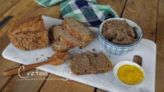 Creton végé. Cuisine futée parents pressés Vegetarian Pate, Vegetarian Recipes, Cooking Recipes, Healthy Recipes, Healthy Food, Quebec, Cuisine Diverse, Vegan Baby, Vegan Sugar