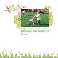 Made by my wonderful MoonPie Sandrine, with my Spring Fling Kit