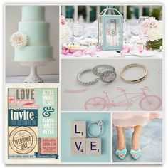 inspiration board by keri. minted's wedding inspiration board challenge.