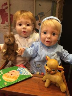 "1985 ""Real Baby"" dolls designed by Judith Turner (hasbro)"