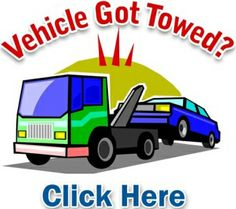 Contact us 24/7 if your vehicle got towed and you need to get the ...