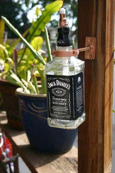 Jack Daniels Tiki Torches