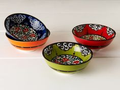 Turkish Bowls Great colors