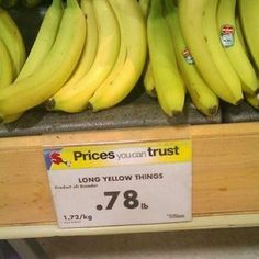 """When this grocery store forgot the word for """"bananas."""" 