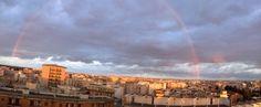 Magico arcobaleno su Lecce