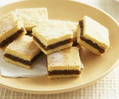 Date slice recipe - By Australian Women& Weekly, This recipe is simple and oh so sweet, but the best part? It uses less refined sugar, and instead opts for the delicious natural sweeteners of dates and honey. Baking Recipes, Cake Recipes, Dessert Recipes, Desserts, Kiwi Recipes, Baking Biscuits, Date Slice, Biscuit Recipe, Kitchens