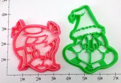Grinch and Cindy Lou Cookie Cutter Set on Etsy, $12.00