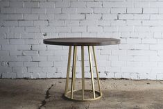 Oak dining table / Industrial dining table / Industrial