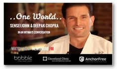 As a trailblazer in the national #StopBullyingCampaign, #SenseiJohnMirrione impacts lives by means of martial arts & the philosophy of meditation. Watch his #ONEWORLD conversation with #DeepakChopra now on #NEWSWIREFM : newswire.fm/one_world/video.php?guest_id=179