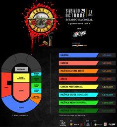 Guns N' Roses en Chile: Entradas costarán hasta $240 mil y estarán disponibles el próximo lunes