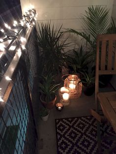 78 Best Small Balcony Furniture Decor Ideas For Your Apartment #smallbalcony #balconydecor #apartmentdecor