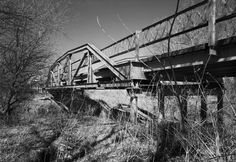 Built ca. 1950 Pony truss bridge over Stillwater Creek on FAU 6361 in Stillwater, Oklahoma
