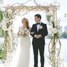 Wedding Ceremony Arch, Wedding Ceremony Decorations, Ceremony Backdrop, Phuket Wedding, Destination Wedding, Floral Arch, Wedding Events, Flower Arrangements, Wedding Planner