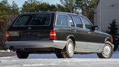 w126 Mercedes-Benz 560 TEL the hand-built wagon by Caro International Gm... Mercedes W126, Car, Automobile, Autos, Cars
