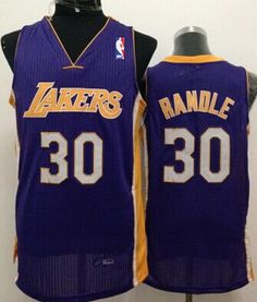 2e077eb73 Los Angeles Lakers  30 Julius Randle Purple Swingman Jersey