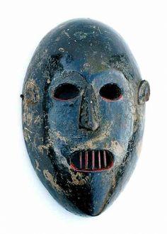 42: Wood Mask Himalayan Culture