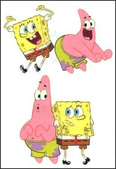 "SpongeBob 9 Temporaray Tattoo by Tattoo Fun. $1.99. SpongeBob & Patrick Playing Around & Serious temporary tattoo. Sheet size 3""x4""."