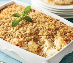 Crab Meat Casserole Newfoundland Recipe. Cookbook of Traditional Newfoundland Meals by Newfoundland.ws