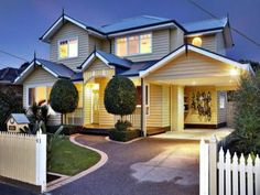 Photo of a weatherboard house exterior from real Australian home - House Facade photo 297293
