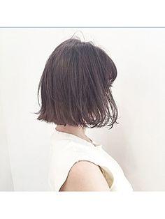 潔いシルエットに、きゅん。切りっぱなしヘアだけのヘアカタログ #Beauty #Bob