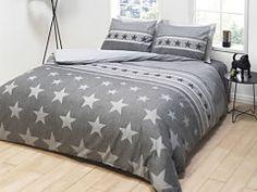 Sivé bavlnené obliečky na manželskú posteľ Comforters, Blanket, Bed, Furniture, Home Decor, Creature Comforts, Quilts, Decoration Home, Stream Bed