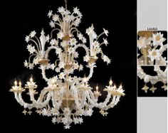 Murano Glass Lamia Chandelier
