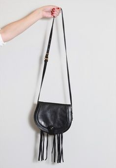 Vintage 1970's Assima Fringed Shoulder Bag