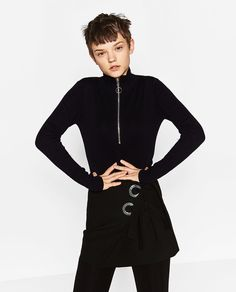 MINI SKIRT WITH BOWS-View all-SKIRTS-WOMAN   ZARA Israel