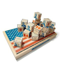Take a look at the US Presidential Block Set on #zulily today!