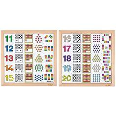 Tel-diagrammen 11 - 15 en 16 - 20   Educo kopen?   Heutink.nl I Love School, Creative Teaching, Calendar, Holiday Decor, Life Planner, Menu Calendar