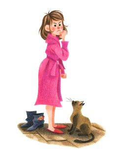Genevieve Godbout illustration  -Mauvais Poil