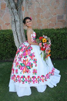 Dama Dresses, Quince Dresses, 15 Dresses, Flower Girl Dresses, Wedding Dresses, Mexican Quinceanera Dresses, Mexican Dresses, Quinceanera Ideas, Mexican Fashion