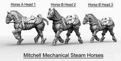 Copper Mine Steam Horse