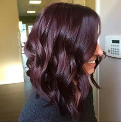 perfect fall hair colors ideas for women 12 ~ thereds.me perfect fall hair colors ideas fo Fall Hair Colors, Red Hair Color, Burgundy Color, Deep Burgundy Hair Color, Short Burgundy Hair, Purple Brown Hair, Burgendy Hair, Red Violet Hair, Dark Purple