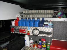 Need to make sure I have all the tools I'll need in the RV...then organize them.