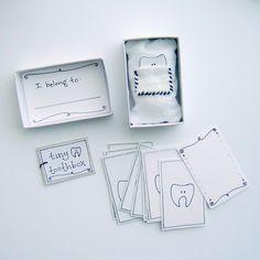 tiny supplies - tiny tooth box