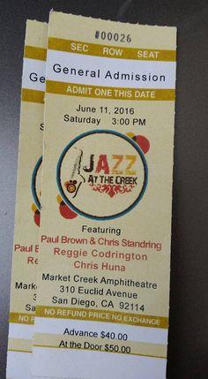 6-11-16 Jazz At The Creek -