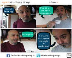 """""""L'Amore è!"""" #comics #fumetto #fotoromanzo #palermo #cabaret"""