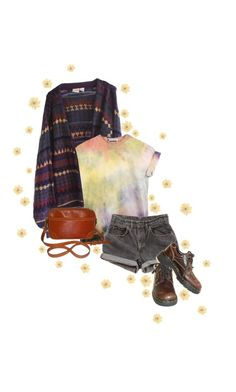 """Crash and burn, all the stars explode tonight"" by flowersoflife ❤ liked on Polyvore featuring Levi's, Dr. Martens and Louis Vuitton"
