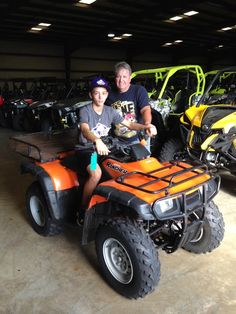 Thanks to Joey and David Smith from Slidell LA for getting a 2001 Honda Rancher at Hattiesburg Cycles