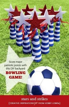 12 Backyard Games for the Best 4th of July Party! - Six Clever Sisters Backyard Games Kids, Diy Yard Games, Diy Games, Backyard Parties, Garden Games, Wedding Backyard, 4th Of July Games, 4th Of July Party, July 4th